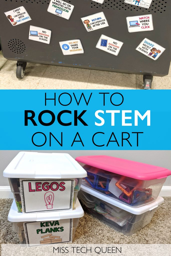 stem on a cart