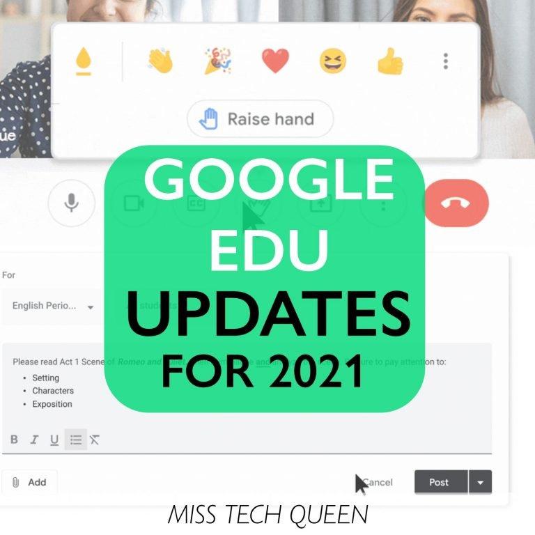 google edu updates
