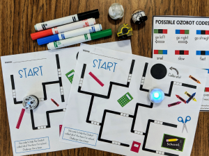 Before starting a coding station make sure to go over the activity, the procedures and the expectations with studnets