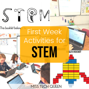 Fun and easy STEM and STEAM activities for the first week of school