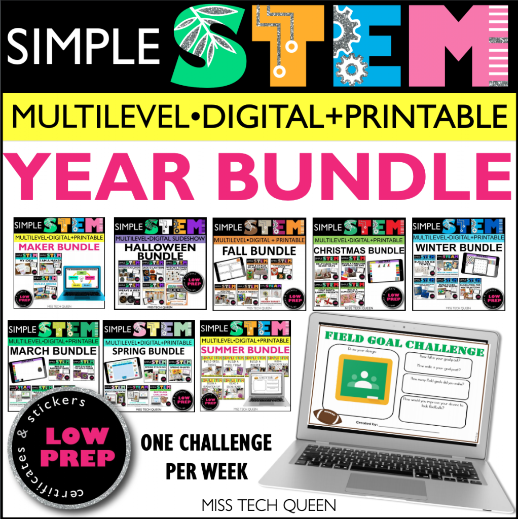 Use these budget friendly STEM ideas all year long.