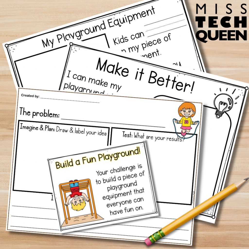 Use the engaging writing activities to get your students thinking about and reflecting on their STEM challenge experience.  A great way to connect literacy and STEM in one lesson.