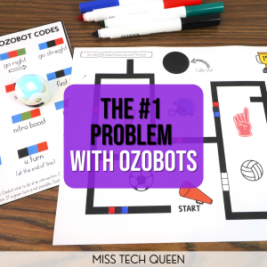 Find out what the biggest problem with Ozobots is and how to overcome it