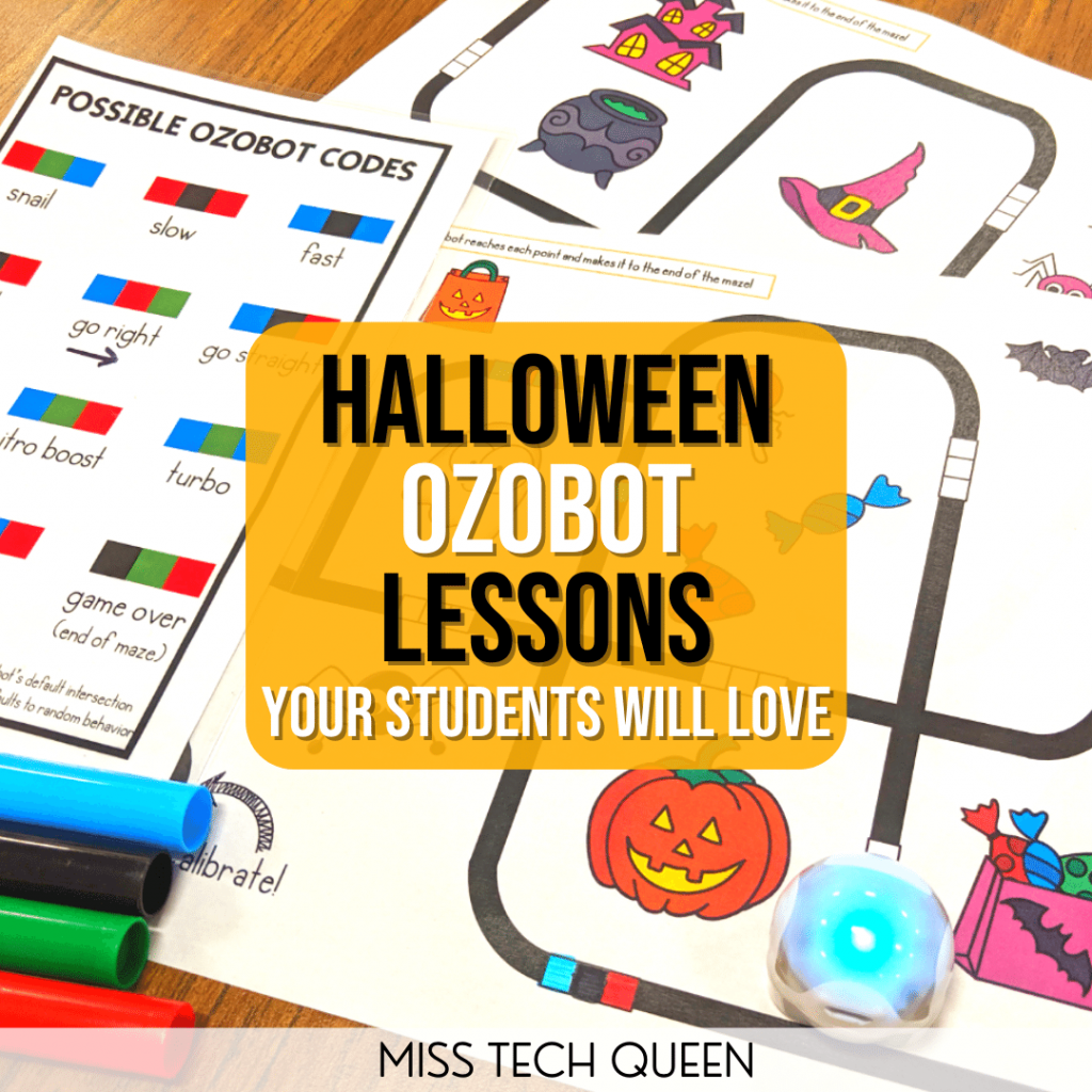 Engage your students this Halloween with fun and engaging Ozbot lessons to teach coding